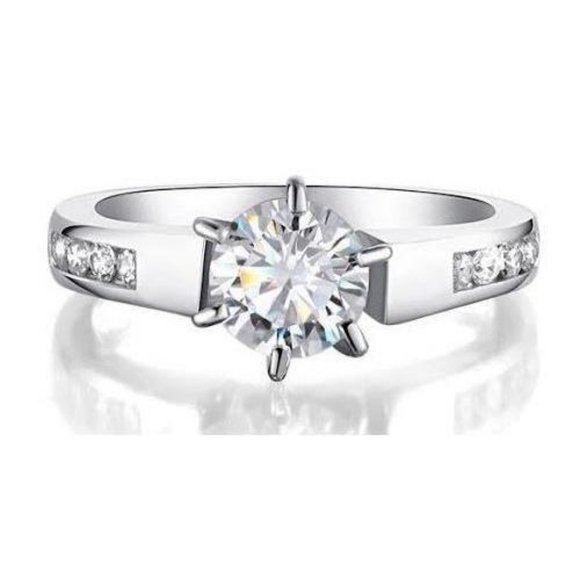 Jewelry - CVD diamonds 2.00 ct Solitaire Six Prong set